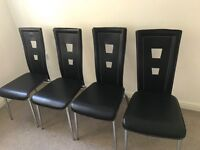 FREE 4x dining chairs