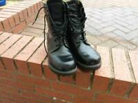 Army issue BOOTS SIZE 7L