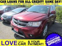 2011 Dodge Journey R/T * AWD * LEATHER * NAV