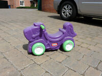 Little Tikes Sit n Roll Horse, foot-to-floor ride on, barely used!