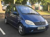 MERCEDES VANEO 2004 (04REG)*AUTOMATIC*£1499*7 SEATER*HISTORY*CHEAP FAMILY CAR*PX WELCOME*DELIVERY