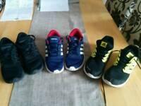 Adidas Trainers children's size 2 joblot