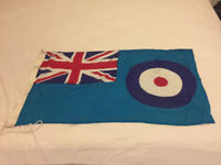 WW2 DATED RAF STATION FLAG OXFORD ENGLAND 1945