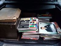 job lot vintage / 50,s / 60,s / 70,s / 80,s + records