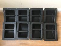 8 x Flightcase Dish Handles
