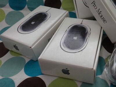 Apple Pro Mouse Black USB Mac NEW RARE FACTORY SEALED RETAIL BOX M8733G/A M5769 (Apple Mac Pro Mouse)