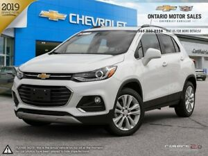 2019 Chevrolet Trax Premier AWD / POWER SUNROOF / REAR PARK A...