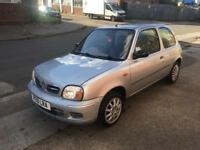 "***""🚘NISSAN,MICRA,S,1.0cc,2001,3DR,HATCHBACK,LOW MILEAGE MANUAL,SILVER🚗***"