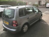 2008 Diesel Volkswagen Touran 7 seater motd until March 2019