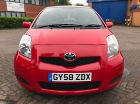 TOYOTA YARIS TR 1.3 2009 BARGIN £30 A YEAR TAX CHEAP BARGAIN