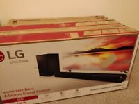 LG SH2 2.1 sound bar, new in box