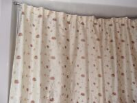 Curtains - Lightweight Gold coloured
