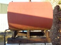 DIESEL STORAGE TANK WITH HOSE AND NOZZLE