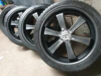 "22"" Toyota hilux Ford ranger Isuzu dmax alloy wheels"