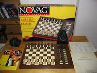Vintage Novag Emerald Classic Chess Computer