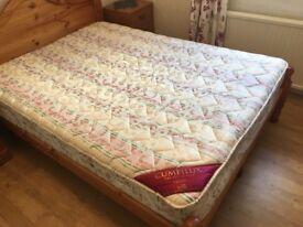 Cumfilux double mattress