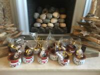 Santa's Cookie jars All proceeds go to charity Children with cancer UK