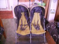 MAMAS AND PAPAS Kato model double buggy