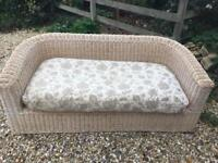 Wicker / rattan sofa