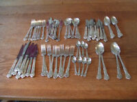 Full Set of Country Plate Aurthur Price Silver plated cuttlery.
