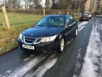 Saab 93 TID Turbo Edition 2010 10 Reg Black Full leather