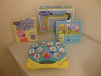 Inspiration Works Peppa Pig Little TV + Peppa Pig Music & Games Toy & Book