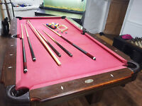 Pool table accessories see images fore more