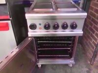 ELECTRICAL 4 HOB FASTFOOD 3 PHASE COOKER COMMERCIAL OVEN MACHINE RESTAURANT TAKEAWAY DINER SHOP