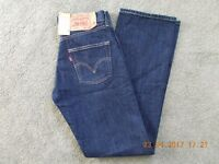 LEVI 501 RED TAG BUTTON FLY JEANS. W27 L32. BRAND NEW.