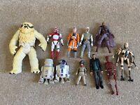 Star Wars figures - assorted