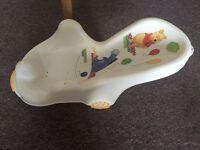 Baby Bath Chair - Winnie the Pooh - LIKE NEW - £4