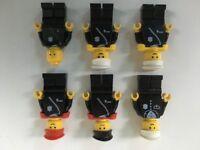 Vintage Lego figures - Police Officers x 6