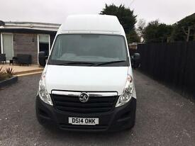 Vauxhall movano 2014 lwb high top