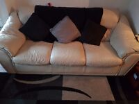 3 and 2 seater settee and buffet