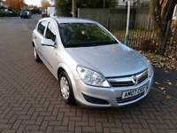 Astra life 1.8L 5DR automatic 2007 1 year mot service history