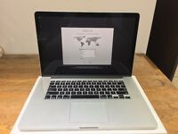 """Apple MacBook Pro Retina 15.4"""" Mid-2015 2.2GHz i7 256GB SSD 16GB RAM"""