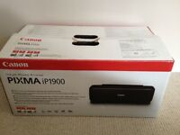 Canon PIXMA iP1900 Injet Colour Photo Printer - Boxed & Unused!