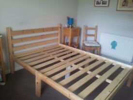 Double bed + matress