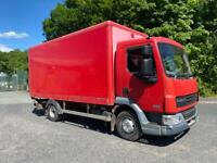 59 plate Daf 7.5 ton box truck. Ex Royal Mail