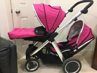 Oyster max 2 - Double pram