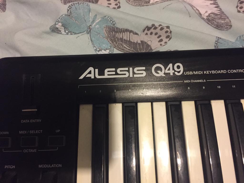Alesis Q49 USB Midi keyboard £30