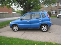 SUZUKI IGNIS 1.3 GL 5 DOOR IN METALLIC BLUE - A WELL CARED FOR CAR AT A BARGAIN PRICE £595