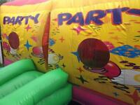 Bouncy castle & sumo suits