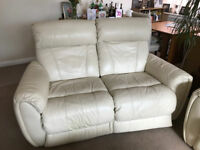 ELECTRIC RECLINER 2 SEATER LEATHER SOFA OR 2 ARMCHAIRS - DELIVERY AVAILABLE!