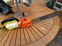 Dolmar heavy duty electric chainsaw