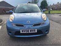 Automatic Nissan Micra 2008 moted and taxed very clean inside out