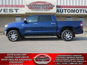 2014 Toyota Tundra LIMITED CREW MAX 4X4, LOADED, 1 OWNER, LOW KM