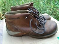 caterpillar leather boot uk8 eu42 in nice condition
