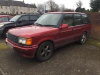 Land Rover Range Rover 2.5 turbo diesel autobiography automatic P38