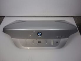 BMW 5 Series 525D E60 03-10 Boot Lid Tailgate In Titan Silber Metallic Ref 87018